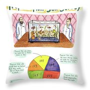 Results Of The Tropical Fish Sex Survey 17% Throw Pillow