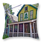 Resurrected In Asbury Grove In South Hamilton-massachusetts Throw Pillow