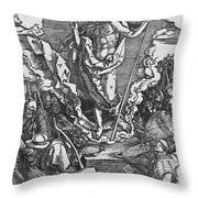 Resurrection Throw Pillow