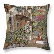 Rethimnon-crete-greece Throw Pillow