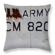 Retired Lcm-8 Throw Pillow