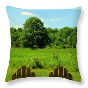 Retirement Time Throw Pillow