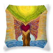 Retreat Of The Sacred Throw Pillow