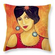 Retro 113 - Marucii Throw Pillow