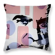 retro Bond Throw Pillow