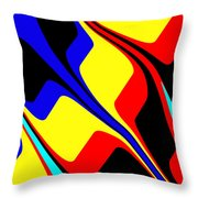 Retro Days Throw Pillow