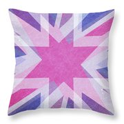 Retro Explosion 4 Throw Pillow