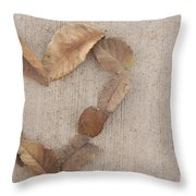 Retro Love Throw Pillow