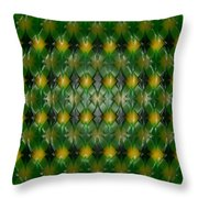 Pattern Plastic Throw Pillow