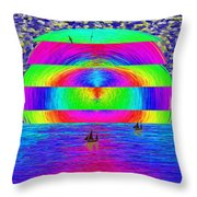 Return Of The Fleet Throw Pillow