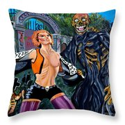Return Of The Living Dead Throw Pillow