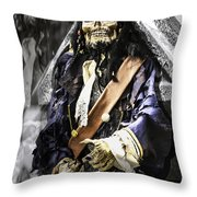 Return Of The Pirate Throw Pillow