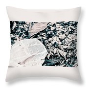 Return To Nature Throw Pillow