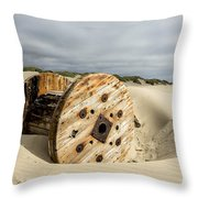 Returned Throw Pillow by Belinda Greb
