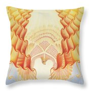 Returning Back To Life Throw Pillow