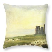 Returning Home     Stonehenge Throw Pillow