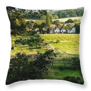 Returning Home .. As A Canvas Throw Pillow