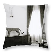 Reunification Palace In Saigon Throw Pillow