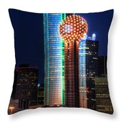 Reunion Tower Throw Pillow