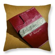 Rev War: Wallet Throw Pillow