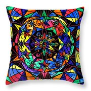 Reveal The Mystery Throw Pillow