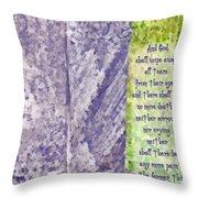 Revelation 21 4 Throw Pillow