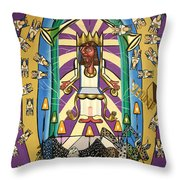 Revelation Chapter 4 Throw Pillow by Anthony Falbo