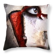 Revenant Of The Opera Throw Pillow