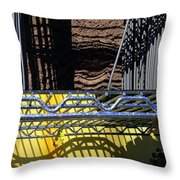 Reverberations Throw Pillow
