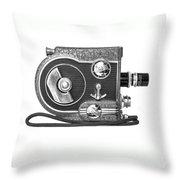 Revere 8 Movie Camera Throw Pillow