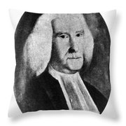 Reverend William Smith Throw Pillow