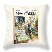 Reverse Play Throw Pillow