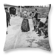 Revolution: Soldiers Throw Pillow