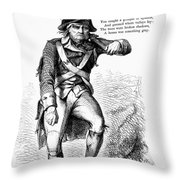 Revolutionary Soldier Throw Pillow