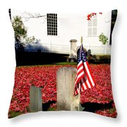 Revolutionary War Hero Throw Pillow