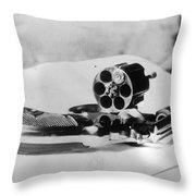 Revolver, 1912 Throw Pillow