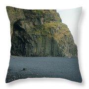 Reynisfjara Beach - Iceland Throw Pillow