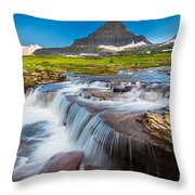 Reynolds Creek Falls Throw Pillow