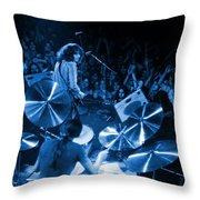 Rg #10 In Blue Throw Pillow