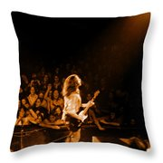 Rg #8 In Amber Throw Pillow