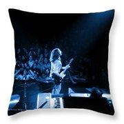Rg #8 In Blue Throw Pillow