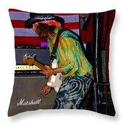Rh #9 Throw Pillow