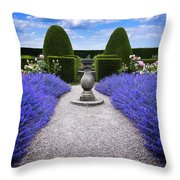 Rhapsody In Blue Throw Pillow