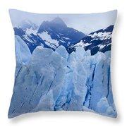 Rhapsody In Blue Throw Pillow
