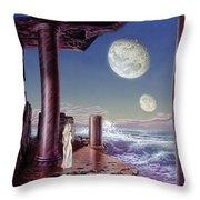 Rhiannon Throw Pillow by Don Dixon