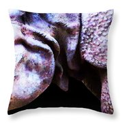 Rhino 2 - Buy Rhinoceros Art Prints Throw Pillow by Sharon Cummings