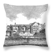 Rhode Island, Usa, 1839 Throw Pillow