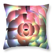 Rhodium Throw Pillow