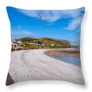 Rhos On Sea Throw Pillow