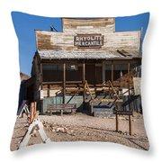 Rhyolite Mercantile Throw Pillow